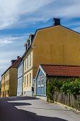 Small street in Karlskrona