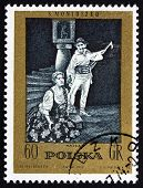 Postage Stamp Poland 1972 Halka, An Opera By Moniuszko