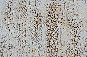Iron Rusty Artistic Wall Peeling Paint