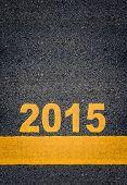 Asphalt Road Markings Showing 2015