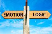 Emotion versus Logic messages