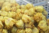 pic of siomai  - Chinese steamed dumplings in the market  - JPG