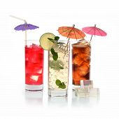 Cocktail In glasses