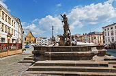 Neptune Fountain, Olomouc, Czech Republic