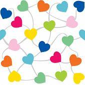 valentine day greeting background