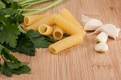 Pasta And Fresh Ingredients