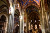 Interior Of Santa Maria Sopra Minerva