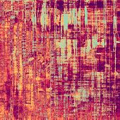 Grunge colorful background. With different color patterns: purple (violet); yellow (beige); red (orange); cyan