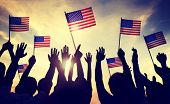 picture of usa flag  - Flag USA July 4 Celebration Indendence Day Concept - JPG
