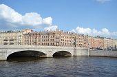Obukhov Bridge, St. Petersburg.