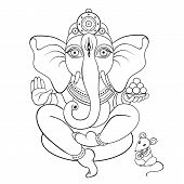 pic of hand god  - Hindu God Ganesha - JPG