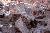Sedimentary Minerals In Atacama Desert, Chile
