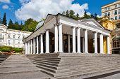St. Cross Spring Colonnade, Spa Marianske Lazne, Czech Republic