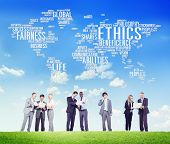 picture of morals  - Ethics Ideals Principles Morals Standards Concept - JPG