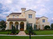 Upscale Spanish-Style House