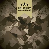image of camoflage  - military camouflage design - JPG