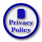 picture of policy  - Privacy policy icon - JPG