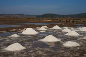 stock photo of food pyramid  - Pyramids of salt - JPG