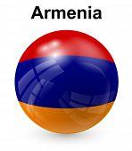 stock photo of armenia  - armenia official state flag - JPG