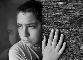 image of sad  - Sad boy - JPG