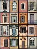 Old Windows Collage