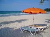Two Chairs Facing Beach @ Bintan Indonesia