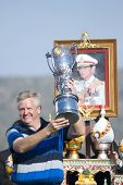 Colin Montgomerie Leads Europe To Victory
