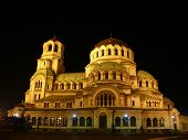 Cathedral of Alexander Nevski. Sofia, Bulgaria