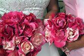 Pink Bridal Bouquets