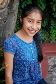 Beautiful Mayan girl
