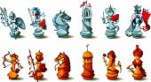 picture of saracen  - Chess full set - JPG