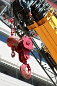 Crane Hook And Wrecking Ball