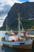 Fishing Boat in Reine, Norway
