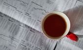 Tea Cup And Stock Market