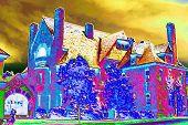 Belhurst Castle, Geneva, NY IR Colorized