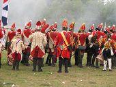 British Troops In Battle