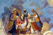 stock photo of magi  - Nativity Scene - JPG