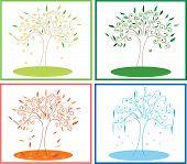 tree four season