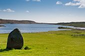 Standing Stone And Finlaggan