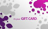 Pink, Purple Object Gift Card