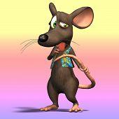 Cartoon muis of Rat #10