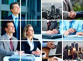 stock photo of business meetings  - Business meeting in the downtown - JPG