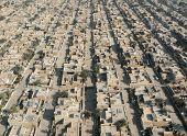 Aerial view of Baghdad