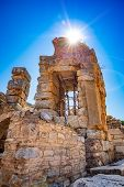 Ancient City Ephesus (efes). Ancient Architectural Structures. Most Visited Ancient City In Turkey poster