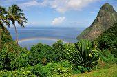 Arco iris en el paraíso
