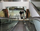 Denver International Airport Escalator