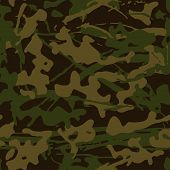 Abstract Grunge Camouflage, Seamless  Texture, Military Camouflage Pattern, Army Or Hunting Green Ca poster