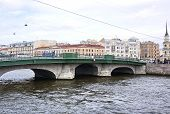 Rivers And Canals In Saint Petersburg. Rivers And Canals In Saint Petersburg poster