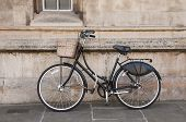 Vintage Bicycle at Cambridge, UK.