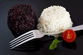 Mixed Rice With Tomato And Parsley